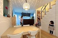 解放感とデザインにこだわった家づくり