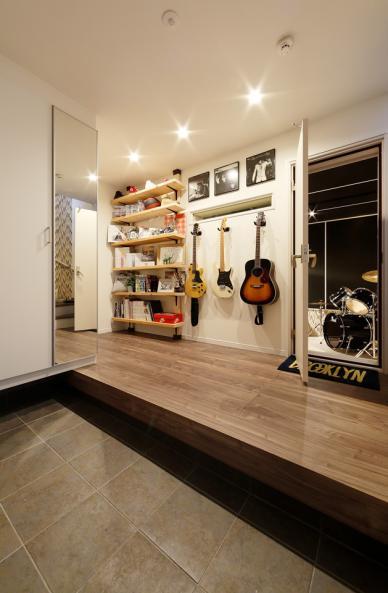 音楽スタジオのある家づくり
