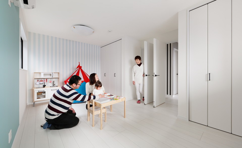 二世帯住宅・ホテルライクな家づくり